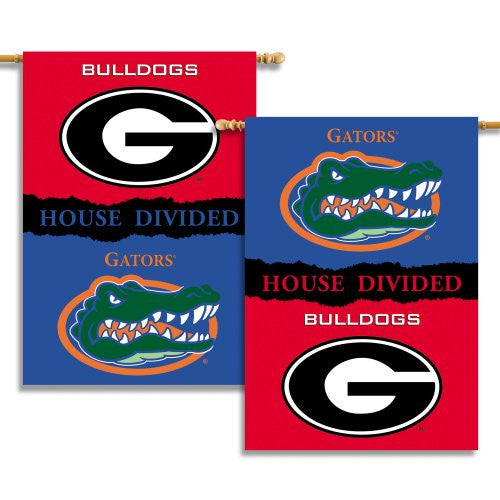 "2-Sided 28"" X 40"" Banner W/ Pole Sleeve House Divided - 96907"