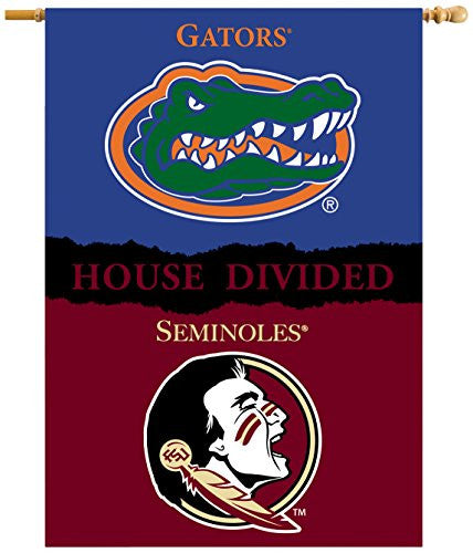 "2-Sided 28"" X 40"" Banner W/ Pole Sleeve House Divided - 96904"
