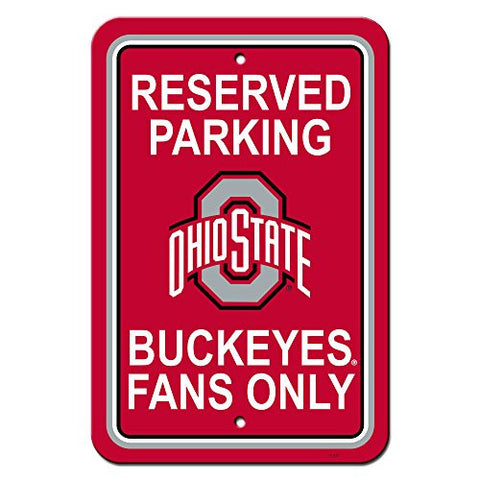 "12"" X 18"" Plastic Parking Sign - 40298"