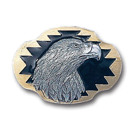 Eagle's Profile Vivatone Belt Buckle