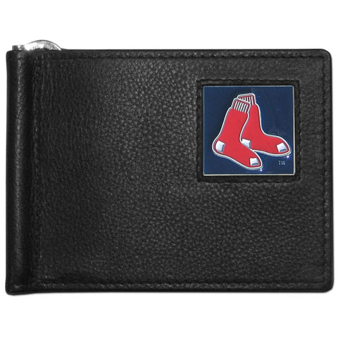 Boston Red Sox Leather Bill Clip Wallet