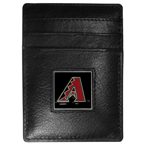 Arizona Diamondbacks Leather Money Clip/Cardholder
