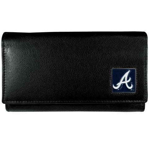 Atlanta Braves Leather Women's Wallet