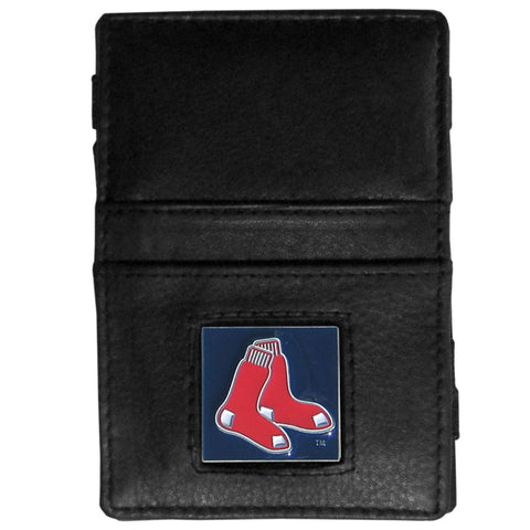 Boston Red Sox Leather Jacob's Ladder Wallet