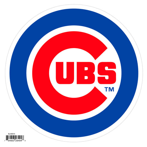 Chicago Cubs 8 inch Logo Magnets