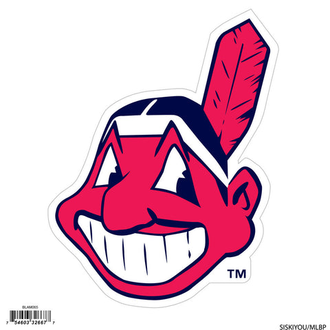 Cleveland Indians 8 inch Logo Magnets