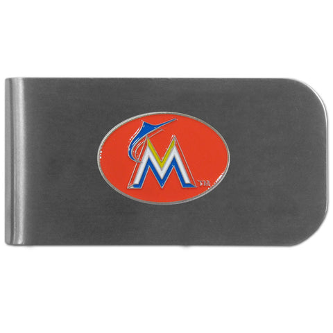 Miami Marlins Bottle Opener Money Clip