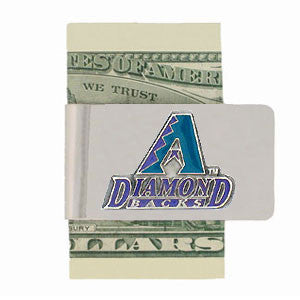 Arizona Diamondbacks Steel Money Clip