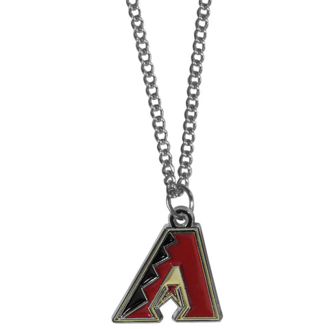 Arizona Diamondbacks Chain Necklace with Small Charm