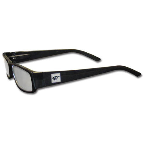 Toronto Blue Jays Black Reading Glasses +2.50