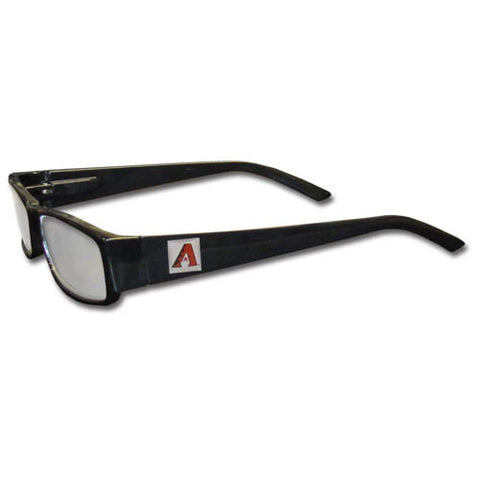 Arizona Diamondbacks Black Reading Glasses +2.00