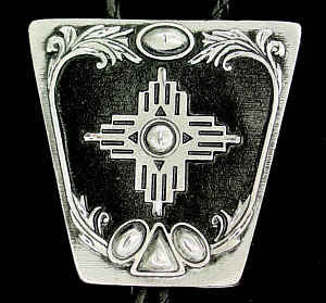 Bolo - New Mexico Cross (Diamond Cut)