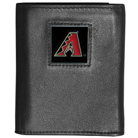 Arizona Diamondbacks Deluxe Leather Tri-fold Wallet
