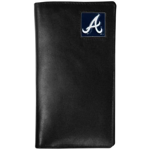 Atlanta Braves Leather Tall Wallet