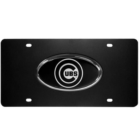Chicago Cubs Acrylic License Plate