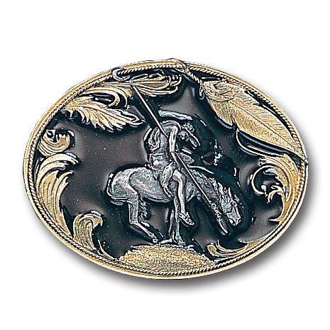 End of the Trail Vivatone Belt Buckle
