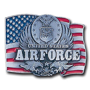 Air Force Enameled Belt Buckle - C92E