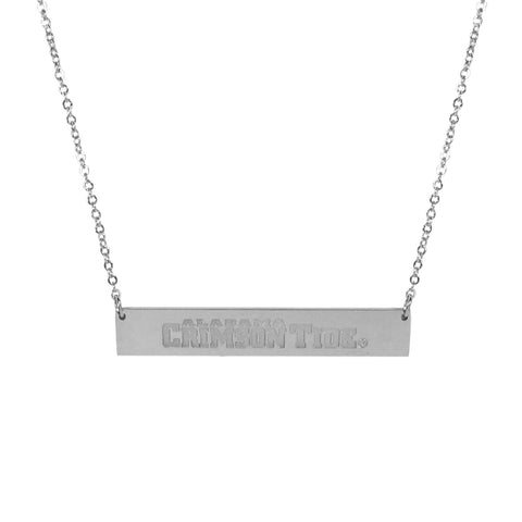 Alabama Crimson Tide Bar Necklace