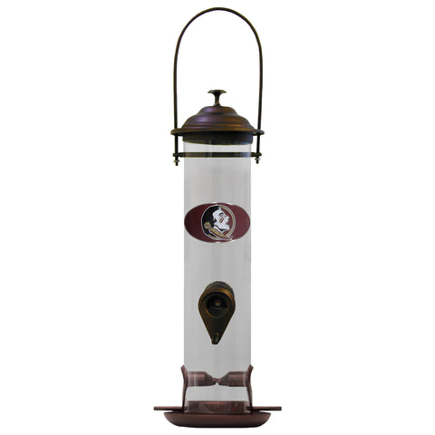 Florida St. Seminoles Thistle Bird Feeder