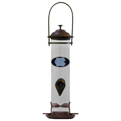 N. Carolina Tar Heels Thistle Bird Feeder