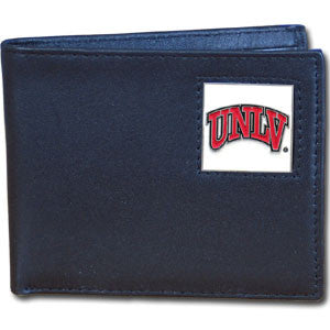 UNLV Rebels Leather Bi-fold Wallet
