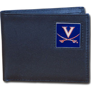 Virginia Cavaliers Leather Bi-fold Wallet