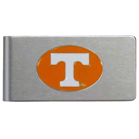 Tennessee Volunteers Brushed Metal Money Clip