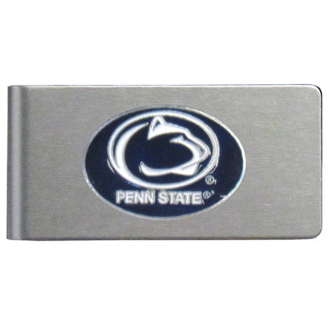 Penn St. Nittany Lions Brushed Metal Money Clip