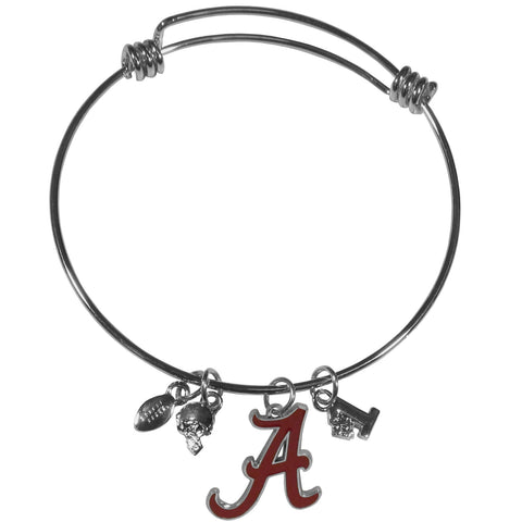 Alabama Crimson Tide Charm Bangle Bracelet - CCBB13