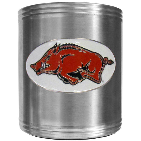 Arkansas Razorbacks Steel Can Cooler