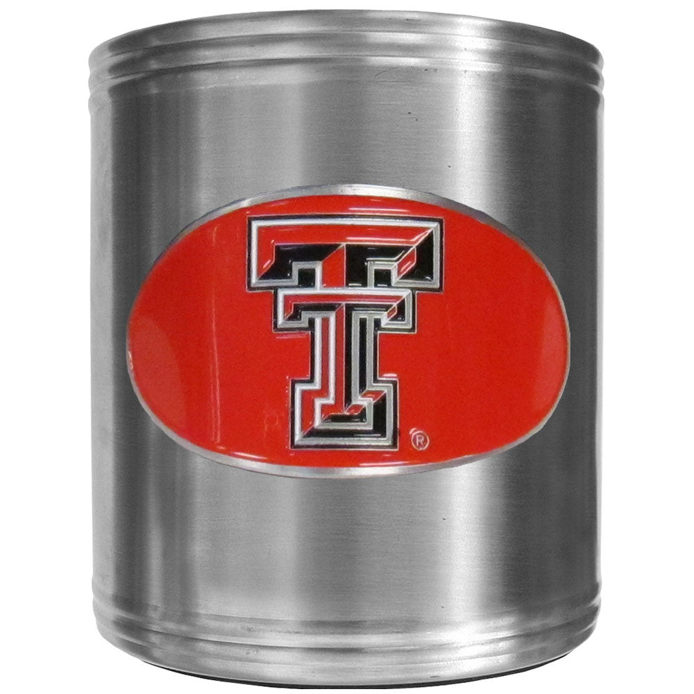 Texas Tech Raiders Steel Can Cooler