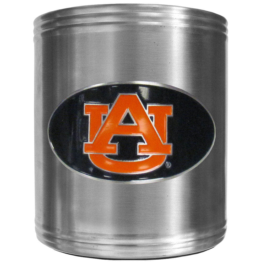 Auburn Tigers Steel Can Cooler