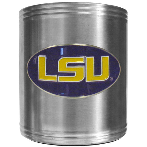 LSU Tigers Steel Can Cooler