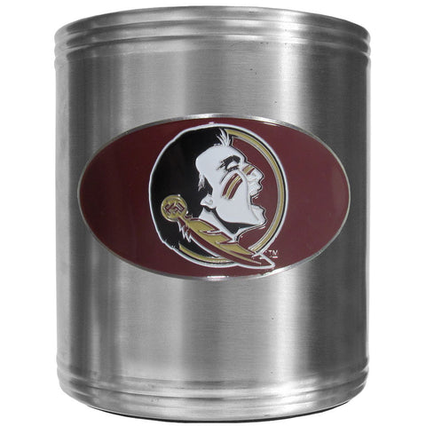 Florida St. Seminoles Steel Can Cooler