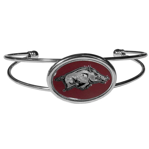 Arkansas Razorbacks Cuff Bracelet