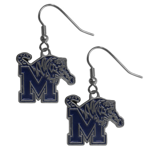 Memphis Tigers Dangle Earrings