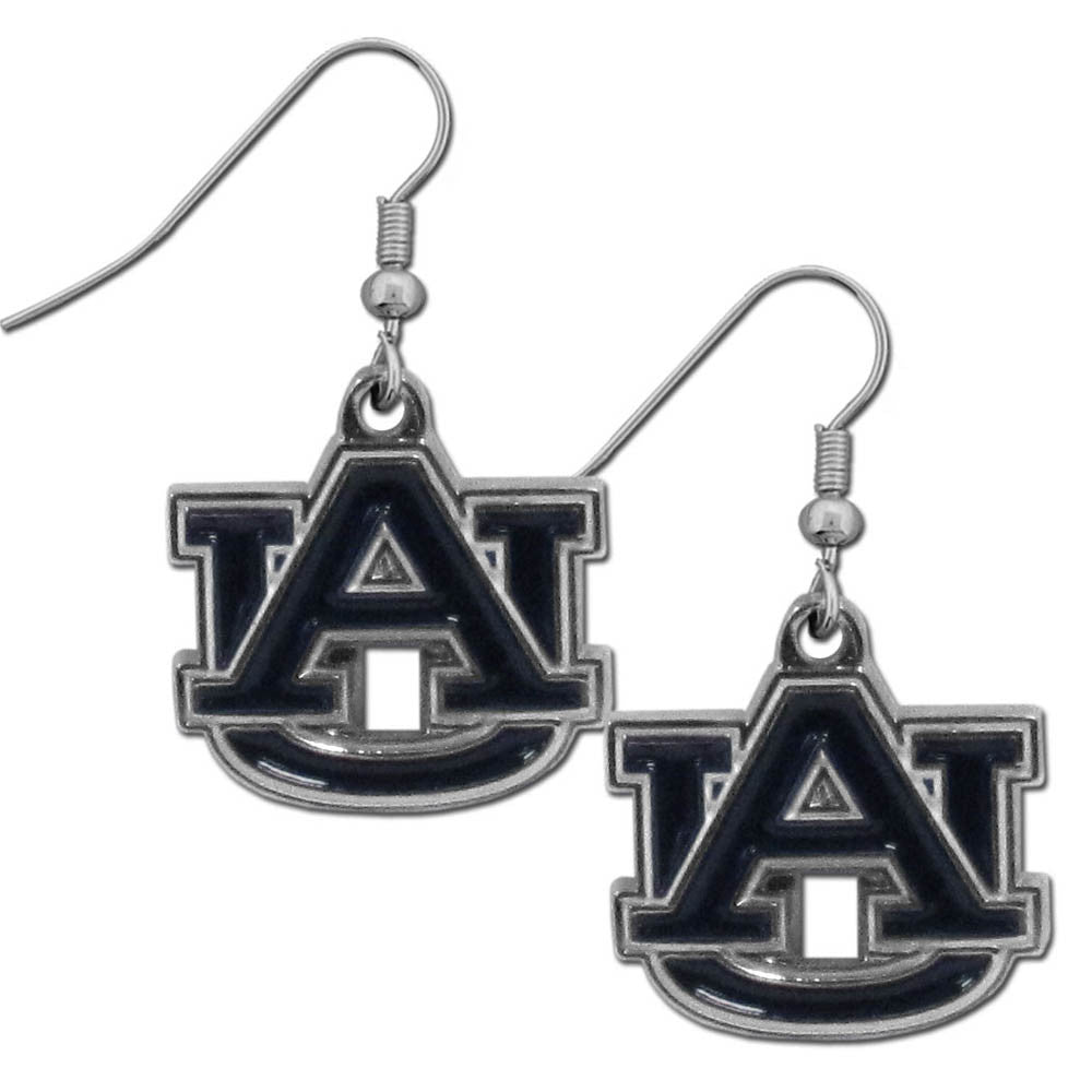 Auburn Tigers Chrome Dangle Earrings - CDE42N