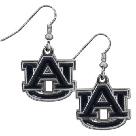 Auburn Tigers Chrome Dangle Earrings