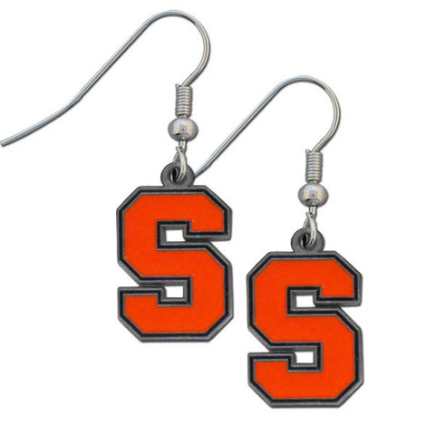 Syracuse Orange Dangle Earrings