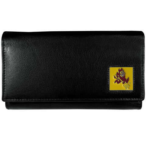 Arizona St. Sun Devils Leather Women's Wallet