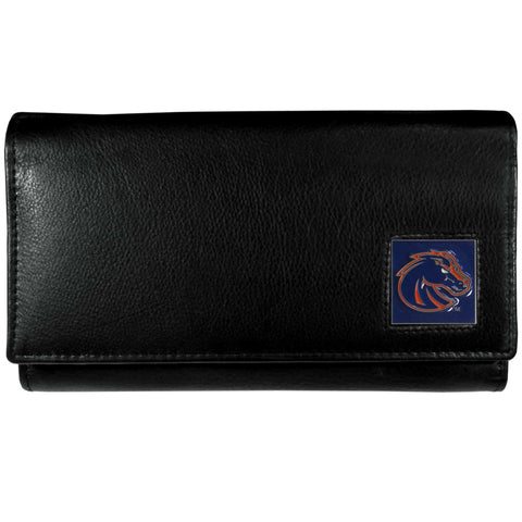 Boise St. Broncos Leather Women's Wallet