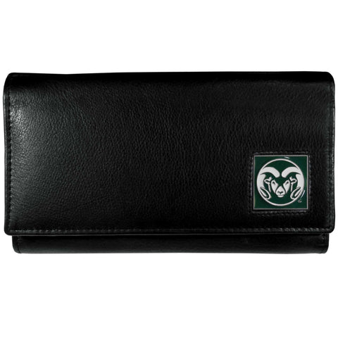 Colorado St. Rams Leather Women's Wallet