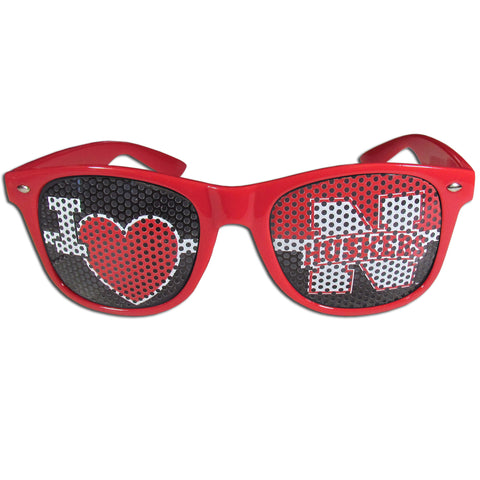 Nebraska Cornhuskers I Heart Game Day Shades