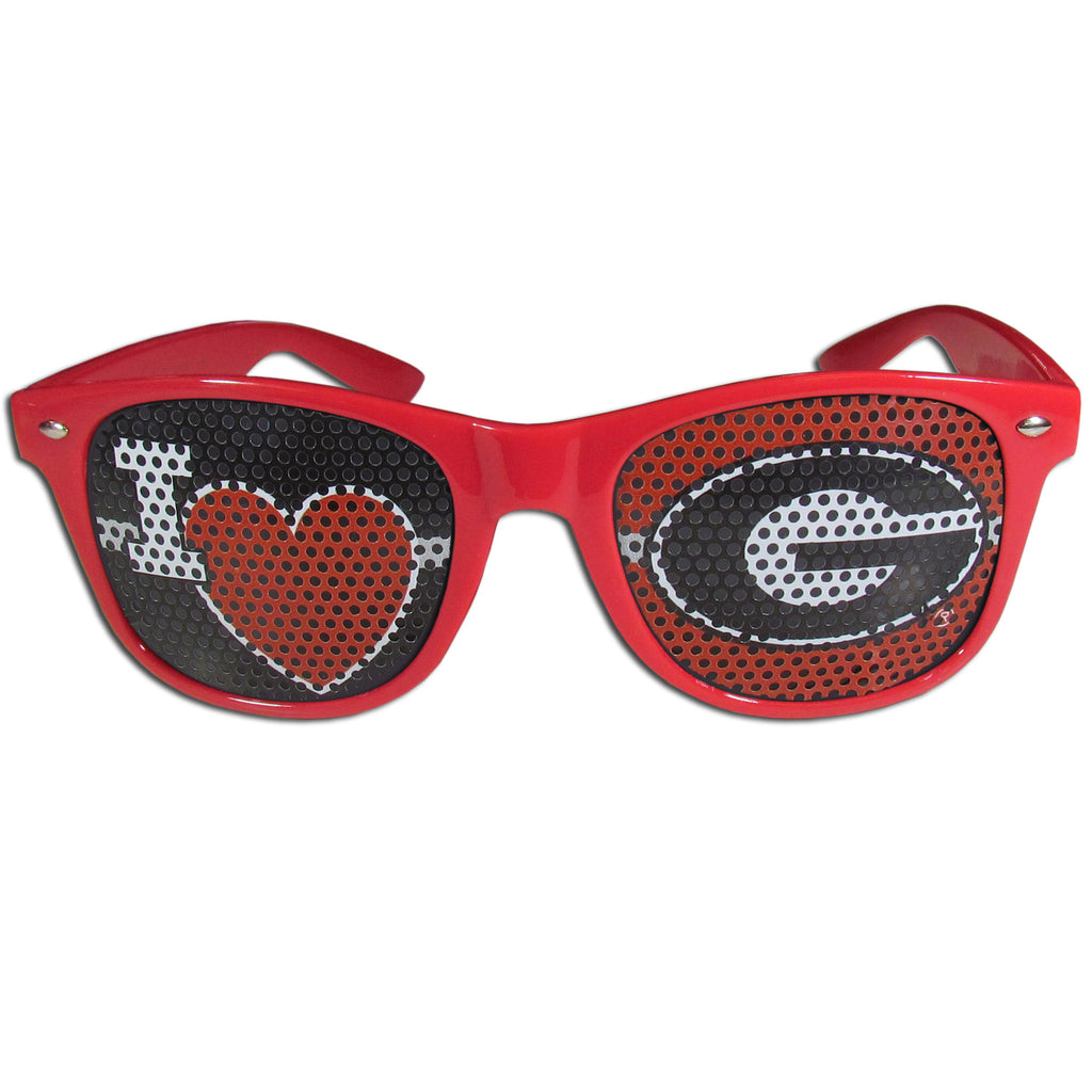 Georgia Bulldogs I Heart Game Day Shades