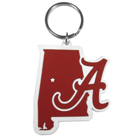 Alabama Crimson Tide Home State Flexi Key Chain