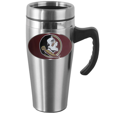 Florida St. Seminoles Steel Travel Mug w/Handle