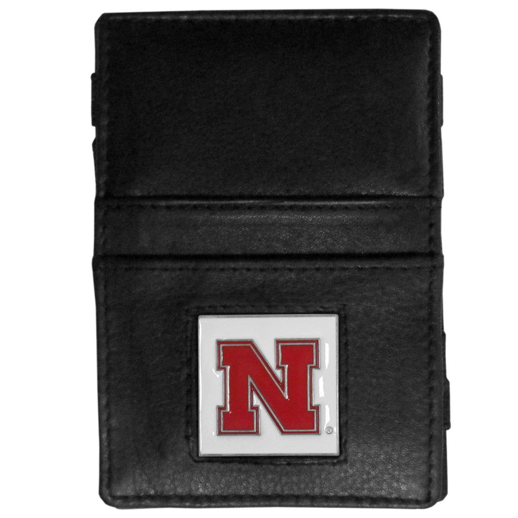 Nebraska Cornhuskers Leather Jacob's Ladder Wallet