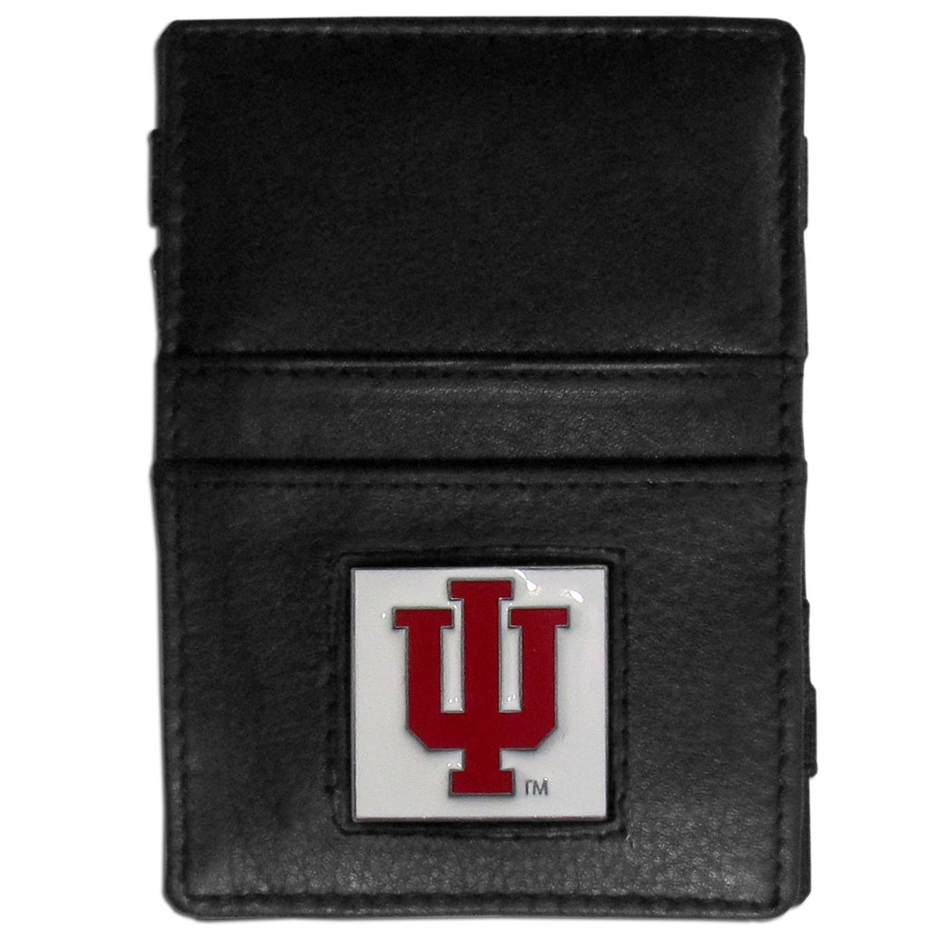 Indiana Hoosiers Leather Jacob's Ladder Wallet