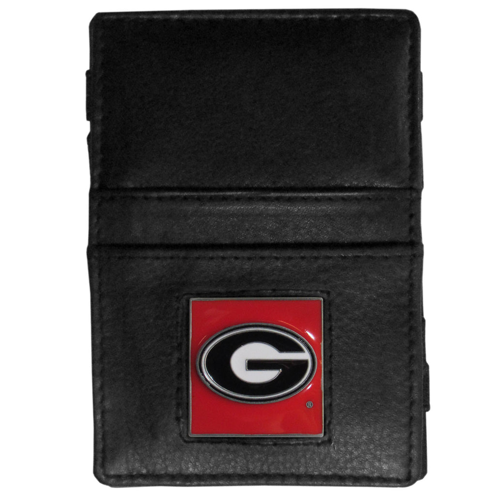 Georgia Bulldogs Leather Jacob's Ladder Wallet