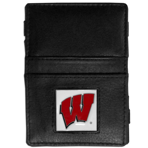 Wisconsin Badgers Leather Jacob's Ladder Wallet